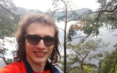 Dvacetiletý Martin Kopřiva přešel pěšky celou Českou republiku. Ujít 666 kilometrů mu zabralo 13 dní a 8 hodin