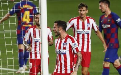 Dva členové týmu Atlético Madrid mají pozitivní test na koronavirus