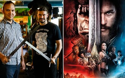Dvaja kamaráti z Česka rozbehli malý obchod s historickými zbraňami, dnes si ich už aj sami vyrábajú. Videli sme ich vo Warcrafte a Vikingoch