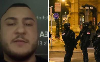 Dva mladíci z Turecka pomohli postřelenému policistovi během útoku ve Vídni