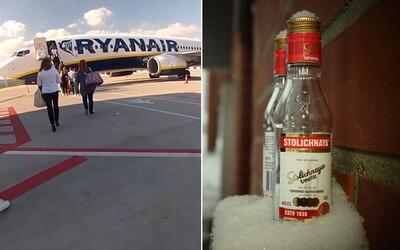 Dvaja páni vypili 2 litre vodky za 5 minút, aby ich na letisku nemuseli vyhodiť. Zisťovali sme, ako vyzerá bezpečnostná kontrola