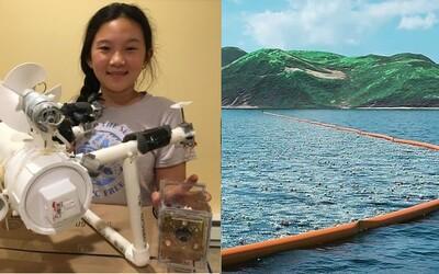 Dvanáctiletá školačka vymyslela robota, který na mořském dně vyhledává plasty
