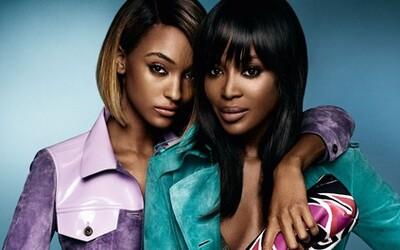Dve čokoládové krásky, Naomi Campbell a Jourdan Dunn, sú novými tvárami kampane značky Burberry
