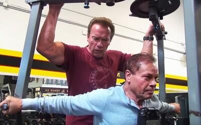 Dve legendy sú späť, aj keď nikdy neboli preč. Arnold Schwarzenegger a Franco Columbu si spolu zatrénovali v Gold's Gyme
