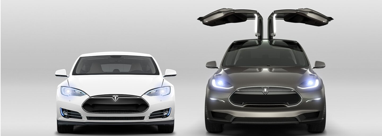 Dve Tesly a nový rekord. Elektromobil Model S si to rozdal s mohutnejším SUV Model X, ako to dopadlo?