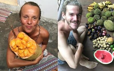 Dvojica vraj už tri roky nejedla nič iné ako ovocie. Vďaka extrémnej diéte sa cítia ako na drogách