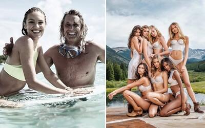 Dvorní fotograf značky Victoria's Secret má práci snů. Russell James již více než 20 let fotí nejkrásnější modelky světa