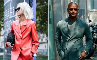 Dvouřadé sako je jedním z nejžhavějších trendů ve společenském oblékání