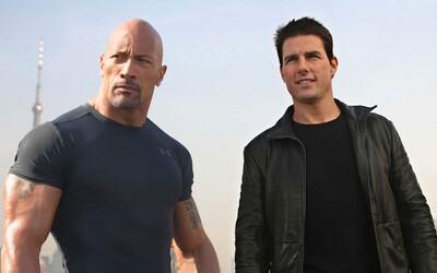 Dwayne Johnson a Tom Cruise si chcú zahrať v spoločnom filme. Podľa nich by to bola pre divákov obrovská zábava
