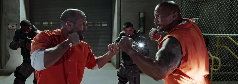 Dwayne Johnson ako Hobbs a Jason Statham ako Deckard si vďaka skvelej chémii a úžasným momentom z Rýchlo a zbesilo 8 vyslúžili vlastný film