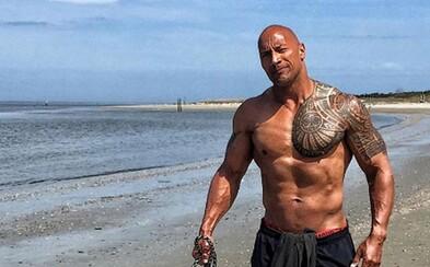 """Dwayne Johnson je nejvíce sexy žijícím mužem na světě. """"The Rock"""" ocenění vůbec nečekal"""