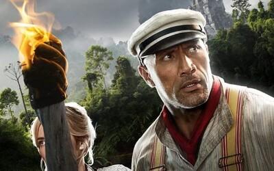 Dwayne Johnson si v akčním traileru hraje na Indiana Jonese a bojuje s jaguárem v džungli