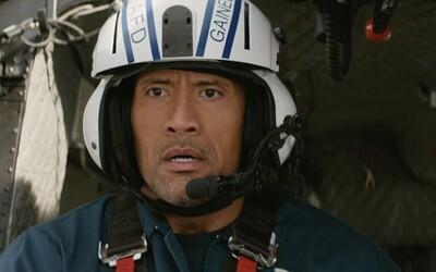 Dwayne Johnson versus konec světa, nové záběry pro San Andreas jsou plné katastrofy