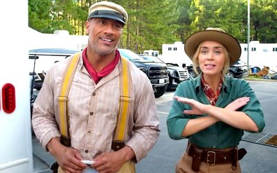Dwayne Johnson zinkasoval za rolu v najnovšej disneyovke o 13 miliónov dolárov viac ako jeho kolegyňa Emily Blunt
