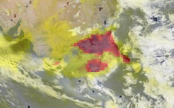 Dym z požiarov v Austrálii zrejme prejde celú Zem
