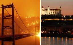 Dym z požiarov v USA sme zaznamenali už aj nad Slovenskom