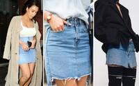 Džínové sukně jsou zpět! Jaké retro poklady se vyplatí vytáhnout ze skříně?