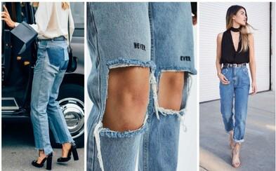 Džínový manuál: Jaké typy džínů ti rozhodně nesmí chybět?