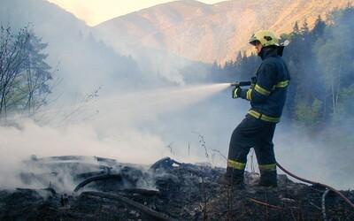 Na celém území Česka kvůli vysokým teplotám hrozí požáry, varuje ČHMÚ.