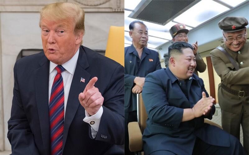 Trump nabídl Kim Čong-unovi let na palubě Air Force One.
