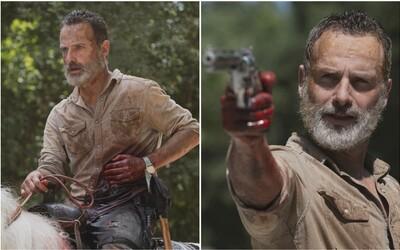 Rick Grimes se za týden rozloučí s The Walking Dead. Tvůrci se inspirovali hrou The Last of Us
