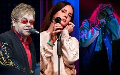 Nejlepší alba týdne: Poslechni si rozněžněnou Lanu Del Rey, lockdownovou desku Eltona Johna nebo rozporuplného Pouyu.