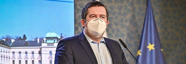 Hamáček k epidemické situaci: Čísla jsou rekordní, občané nařízení dodržují, kritický moment by měl být překročen do měsíce