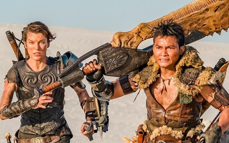 Milla Jovovich vymenila zombíkov za príšery. V akčnom Monster Hunter bude loviť gigantické monštrá.