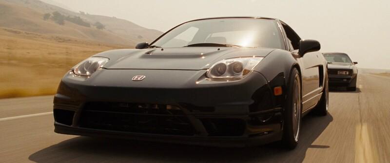 V ktorom filme sa prvýkrát objavila 2003 Honda (Acura) NSX?