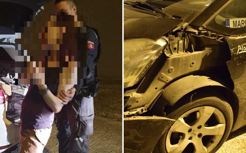 Vodičku z Trnavy museli podopierať policajti. S 3,6 promile nevedela ani stáť na nohách.
