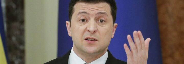 Ukrajina je připravena na válku s Ruskem, bojovat bude do posledního muže, prohlásil prezident Zelenskyj