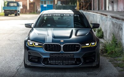Najvýkonnejšie a najrýchlejšie BMW v histórii si vzal do ruky Manhart. Výsledkom je takmer 800 koní
