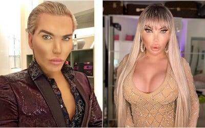 Světoznámý Ken se postupně mění na Barbie. Za zadek jako má Kim Kardashian zaplatil 880 tisíc korun.