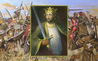 Eduard l.: Pokořitel Williama Wallace, Kladivo na Skoty a poslední záchvěv evropského rytířství ve Svaté zemi