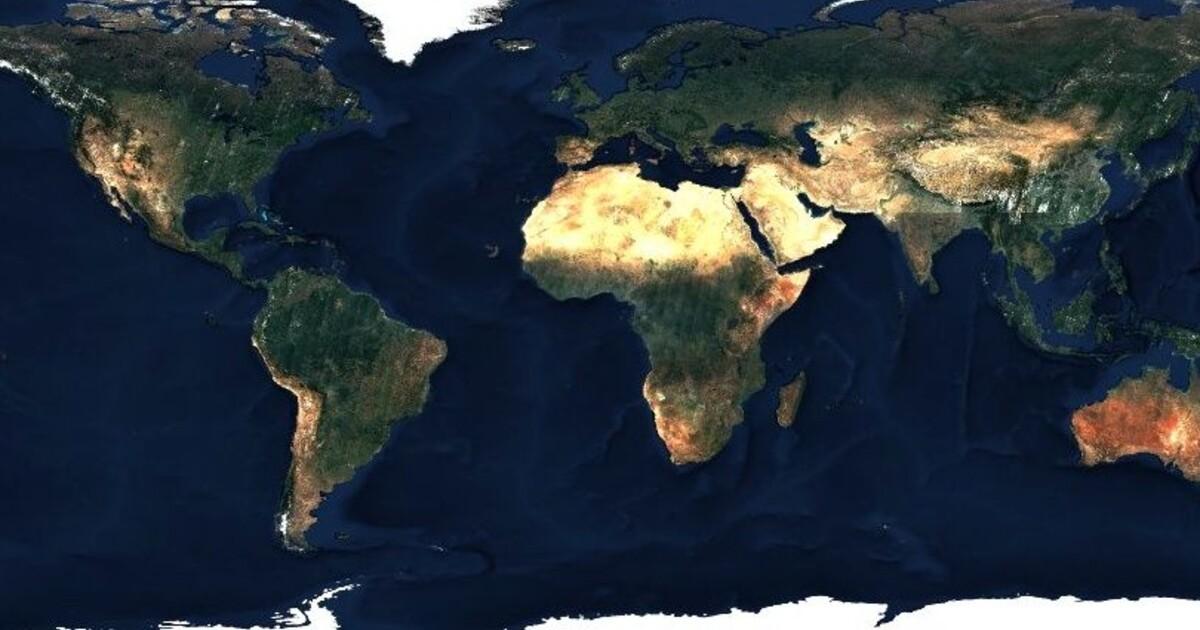 Vznikla Mapa Sveta V Rozliseni 80 Bilionu Pixelu Evropske