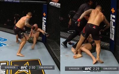VIDEO: Po týchto úderoch padol Conor McGregor na zem. Pozri sa, ako dostal prvé KO vo svojej kariére.
