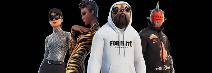 Balenciaga navázala spolupráci s videohrou Fortnite. Výsledkem jsou reálné i digitální módní modely