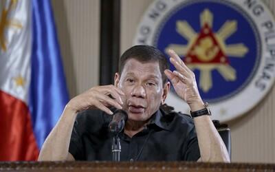 Filipínský prezident varoval, že nechá zastřelit ty, kdo poruší koronavirové restrikce. Do ulic nechal položit otevřené rakve.