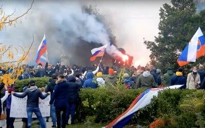 Za útok na policajtov hrozí 21-ročnej Slovenke až doživotný trest.
