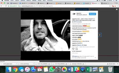 Ego sa pár týždňov pred vydaním svojho debutového albumu Precedens pripomína krátkym freestyle trackom prostredíctvom Instagramu