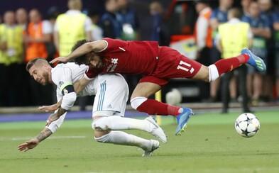 Egypťan zažaloval Sergia Ramosa o 1 miliardu dolárov za zranenie, ktoré spôsobil Salahovi. Právnik chce od obrancu odškodnenie