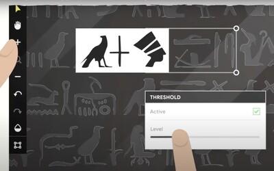 Egyptské hieroglyfy si budeš moci přeložit i sám. Google spouští nový překladač