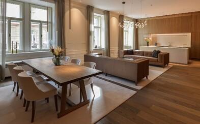 Elegantné bývanie priamo v centre Prahy. Aj takto môže vyzerať byt snov