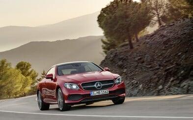 Elegantní a zároveň sportovní! Takový je luxusní Mercedes-Benz třídy E v nové verzi kupé