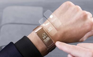 Elegantní náramek Huawei Talkband B2 ti usnadní používání smartphonu a na jedno nabití vydrží až 5 dní