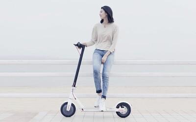 Elektrická kolobežka od Xiaomi predstavuje ideálny mestský dopravný prostriedok