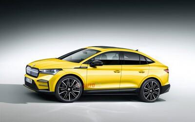 Elektrická Škoda Enyaq príde aj ako štýlové SUV-kupé. Takto dobre môže vyzerať!