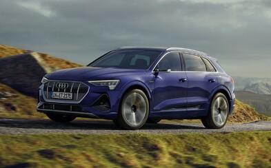 Elektrické Audi dostalo update. E-tron má větší dojezd, novou verzi a sportovní paket