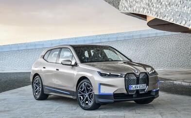 Elektromobil iX s dojezdem přes 600 km se stává novou technologickou vlajkovou lodí BMW