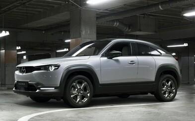 Elektromobil Mazda MX-30 má relatívne malé batérie. Väčšie by vraj boli menej ekologické než dieselový motor